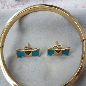 Kate Spade bracelet earring set